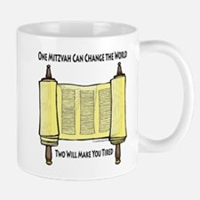 One Mitzvah Can Change the Wo Mug