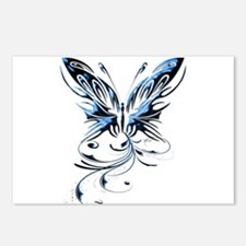 Gorgeous Butterfly Postcards (Package of 8)