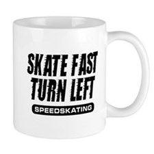 Turn Left Small Mug
