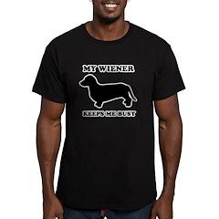 My wiener keeps me busy T
