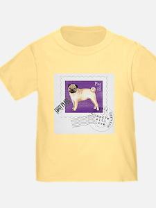 Pug Stamp T