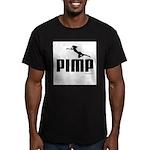 Pimp ~ Men's Fitted T-Shirt (dark)