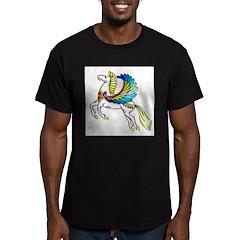 Pegasus Men's Fitted T-Shirt (dark)