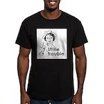 Urine Trouble ~ Men's Fitted T-Shirt (dark)