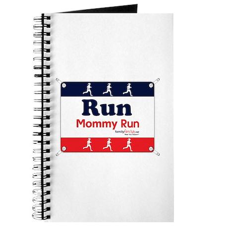 Race Bib Run Mommy Journal