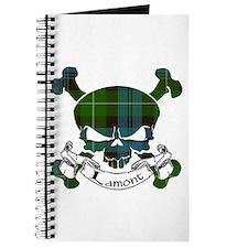 Lamont Tartan Skull Journal