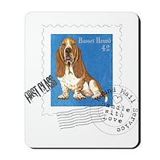 Basset Stamp Mousepad