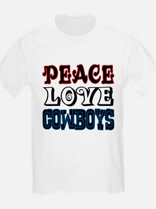 Peace Love Cowboys T-Shirt