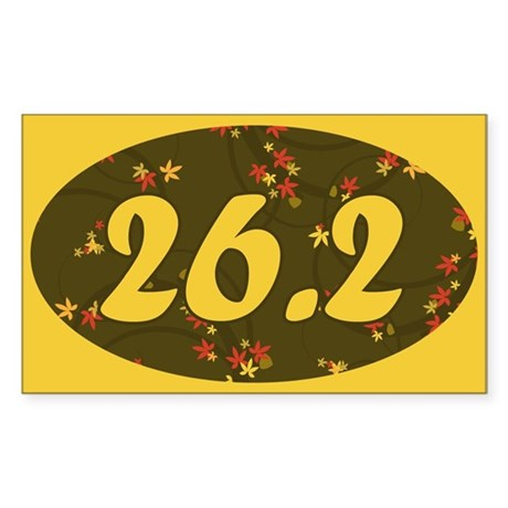26.2 Pattern Rectangle Sticker 10 pk)