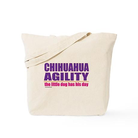 Chihuahua Agility Tote Bag