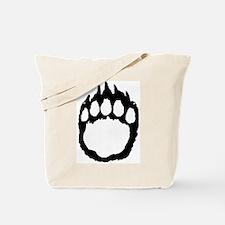 Woof Paw Tote Bag