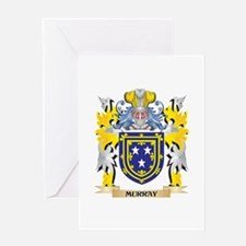 Murray Coat of Arms - Family Crest Greeting Cards