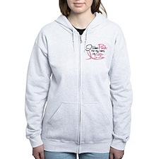 Pink For My Hero 3 SISTERINLAW Zip Hoodie