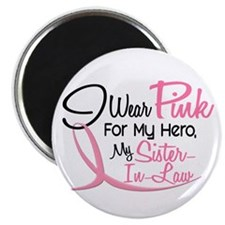 Pink For My Hero 3 SISTERINLAW Magnet