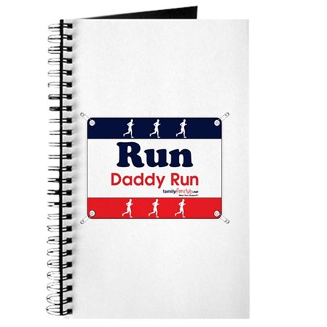 Race Bib Run Daddy Journal