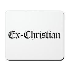 Ex-Christian Mousepad