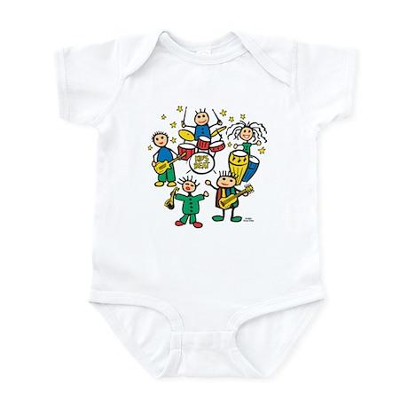 5 Piece Band Infant Bodysuit