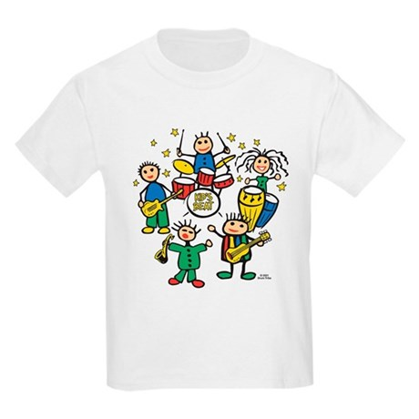 5 Piece Band Kids Light T-Shirt