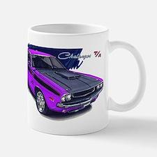 Dodge Challenger Purple Car Mug