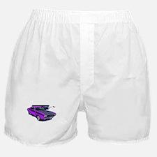Dodge Challenger Purple Car Boxer Shorts