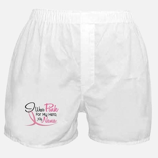 Pink For My Hero 3 NANA Boxer Shorts