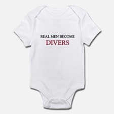Real Men Become Divers Infant Bodysuit