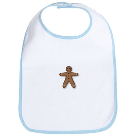 Gingerbread Man Bib