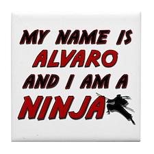 my name is alvaro and i am a ninja Tile Coaster