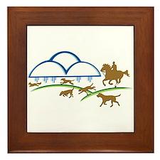 Cloudline Horse and Hound Framed Tile