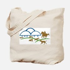 Cloudline Horse and Hound Tote Bag