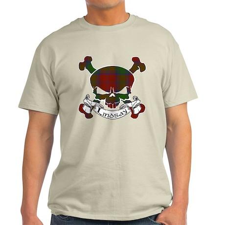 Lindsay Tartan Skull Light T-Shirt