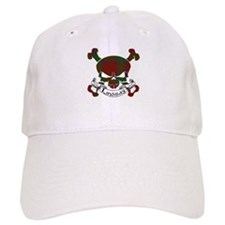 Lindsay Tartan Skull Baseball Cap