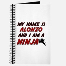 my name is alonzo and i am a ninja Journal