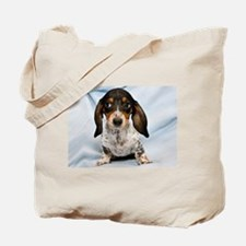Speckled Puppy Tote Bag