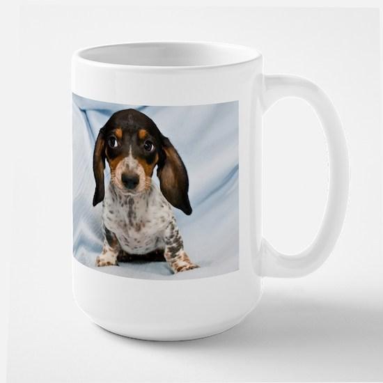 Speckled Puppy Large Mug
