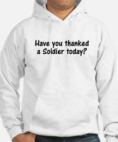 Thank A Soldier Gifts Hoodie