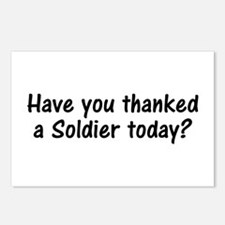 Thank A Soldier Gifts Postcards (Package of 8)