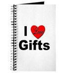I Love Gifts Journal