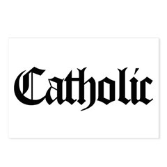 Catholic Postcards (Package of 8)