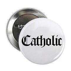 "Catholic 2.25"" Button"