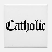 Catholic Tile Coaster