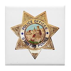 Stanton Police Tile Coaster