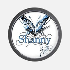 Gorgeous Butterfly-Shanny Wall Clock