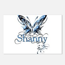 Gorgeous Butterfly-Shanny Postcards (Package of 8)