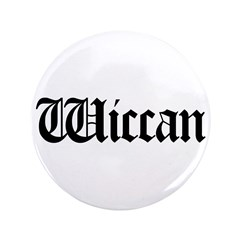 "Wiccan 3.5"" Button"