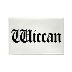 Wiccan Rectangle Magnet (10 pack)