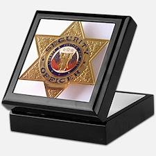 Keepsake Security Officer Box Mahogany or Black
