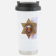 Stainless Steel Travel Mug Security Officer