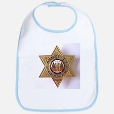 Funny Badge Bib