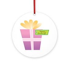 Pepere's Favorite Gift Ornament (Round)